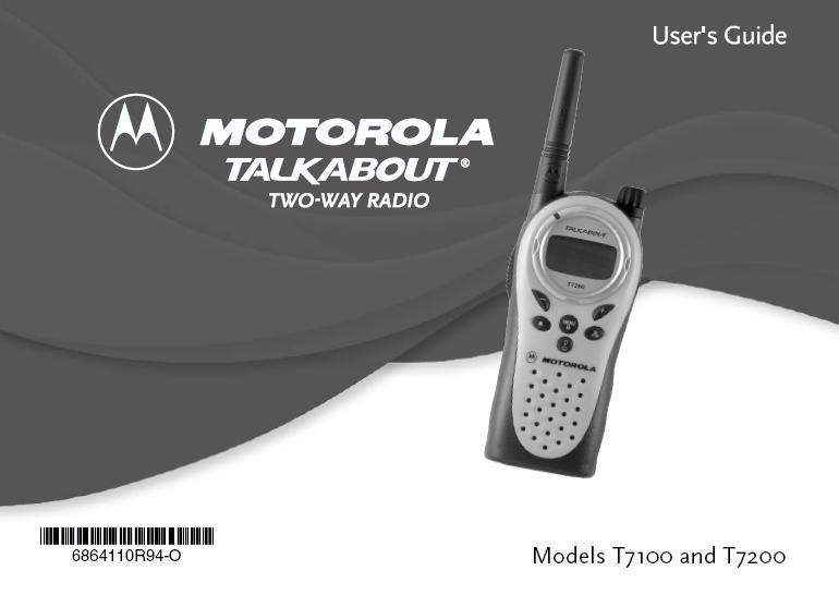 motorola manuals Motorola Mobile Radios Motorola CP250