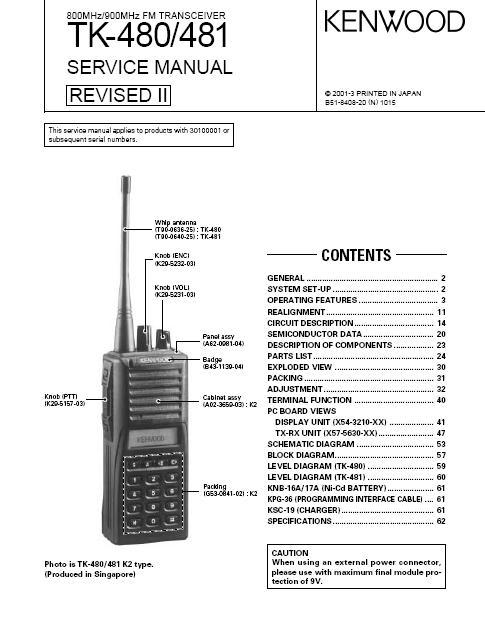 Kenwood Manuals – Kenwood Tk 3180 Radio Wiring Diagram