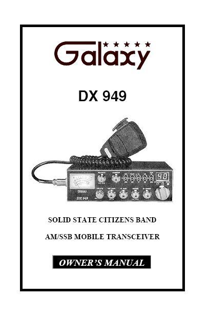 Galaxy Dx 959 Manual - tellupload